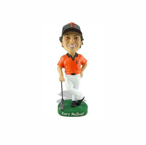 Factory Custom made best home decoration gift polyresin resin custom golf bobblehead