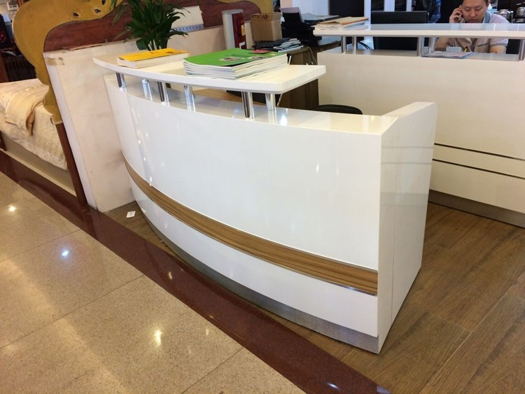 modern wooden office counter desk buy wooden. New Design Salon Office Wooden Modern Reception Counter Desk Buy U