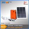 10W solar lighting kit solar light solar kits with 2 bulbs and mobile phone charger