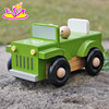 2016 new design funny children wooden toy jeep car W04A326