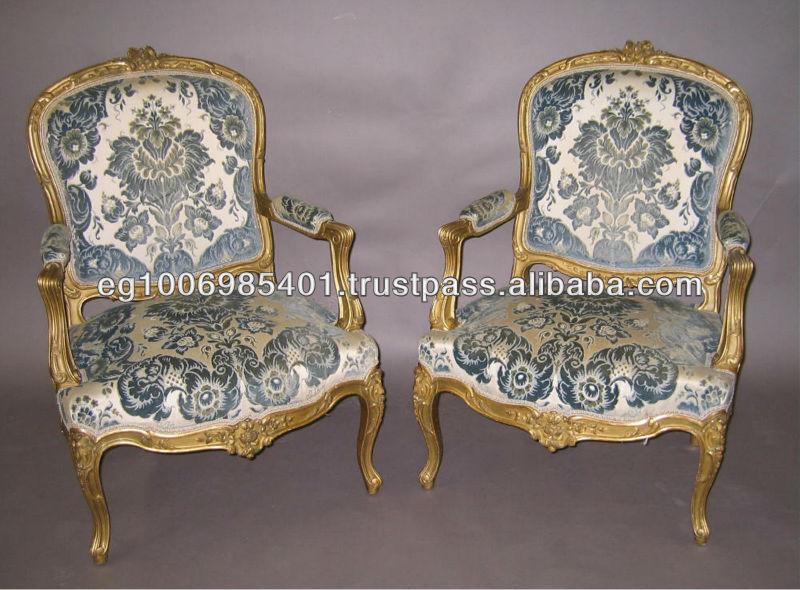 Rococo Antique Armchairs   Buy Rococo Antique Armchairs,French Chairs, Antique Reproduction Armchair Product On Alibaba.com