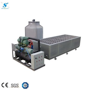 3Ton Jiangmen clear Ice block making machine customized block moulds