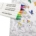 12/24/36/48 Colors Real Nylon Tip Water Based Color Ink Watercolor Brush Art Markers Watercolor Soft Brush Pen Set