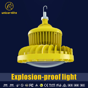 5 years warranty anti corrosion aluminum body LED explosion proof lighting 100W