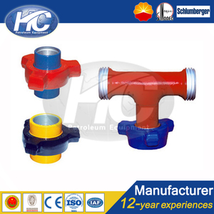 China Supplier Fast Delivery API 6A Hammer Union /Pipe Union /Fmc Weco Fig  206 Hammer Union