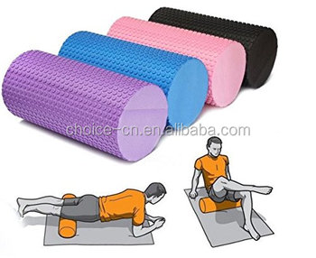 2017 Hot sale yoga accessory EVA Foam Roller