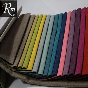 Turkish woven polyester improved flax linen material for sofa sets
