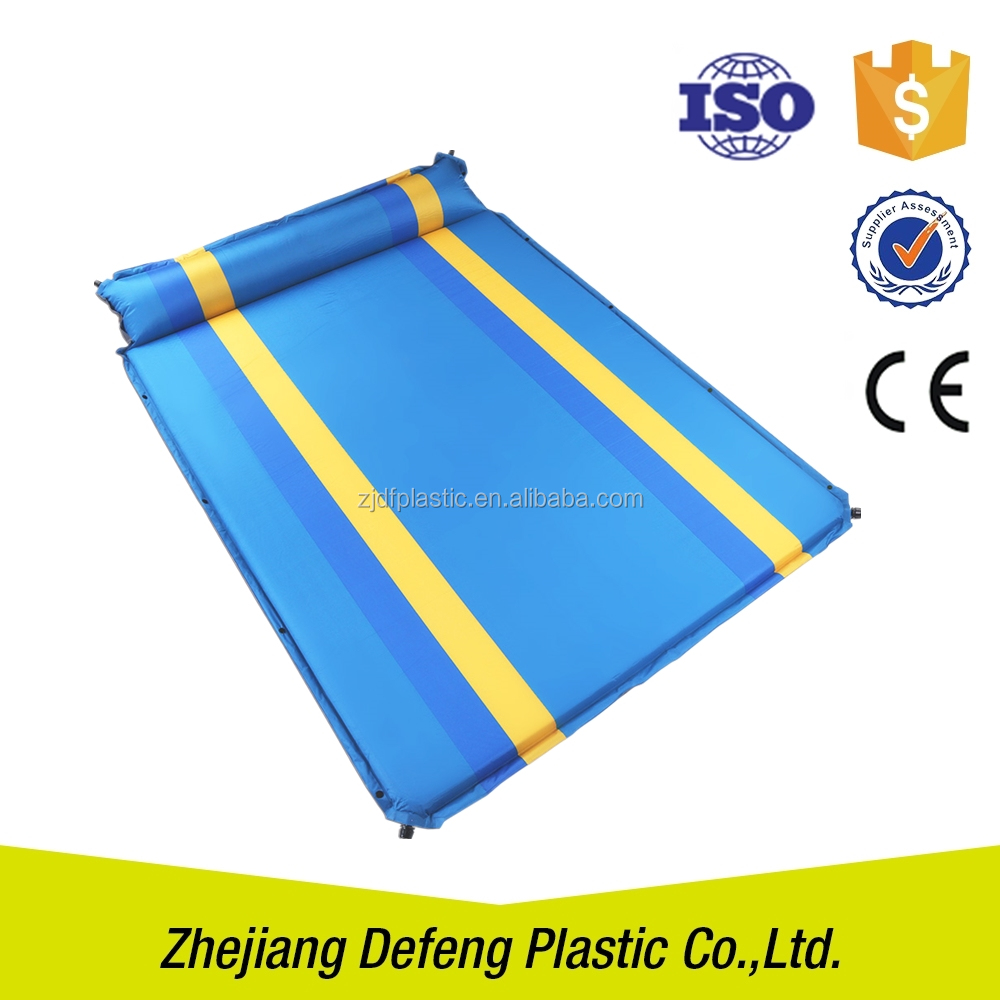 Pool Float Barbecue Pad Picnic Inflatable Mattress Carry Bag Auto Outdoor Folding Padded Beach Mat
