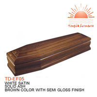 TD-EF05 Wholesale cheap funeral casket & coffin bed with no handle