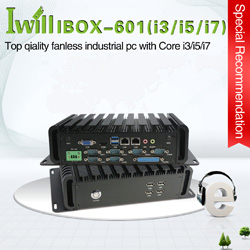 IPC industrial computer for car/Taxi/bus vehicle pc