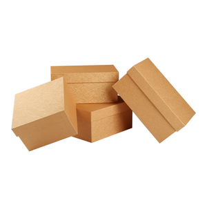 Wholesale custom paper mache gift craft boxes with lids