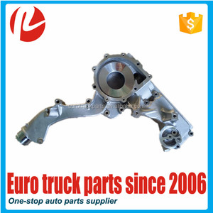 European truck auto spare parts oem 51063300023 51063305031 water pump housing for MAN TGA