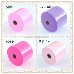 High quality multi color 5 inch tulle roll design for tutu/baby dress/wedding
