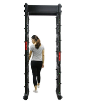 Walkthrough Metal Detector / Security Gate, airport security metal detector Door TEC-100