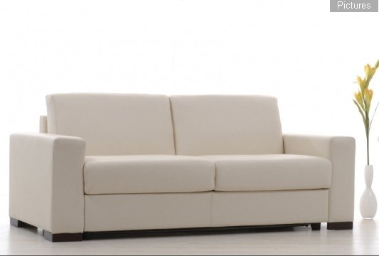 Milano Leather Sofa Beds