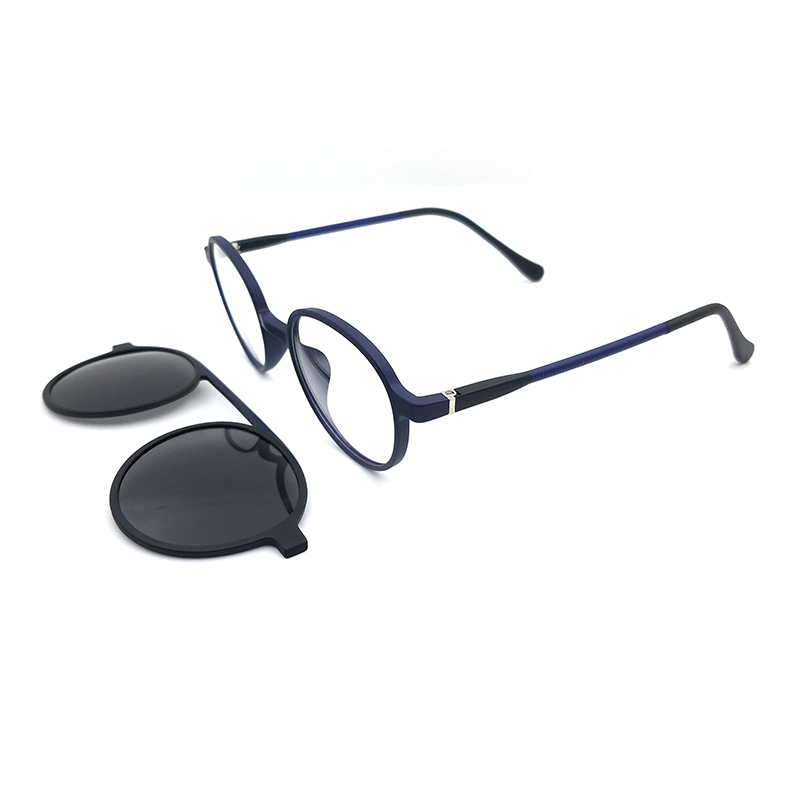 high quality soft tr90 optical eyewear frame clip on magnet eyeglasses