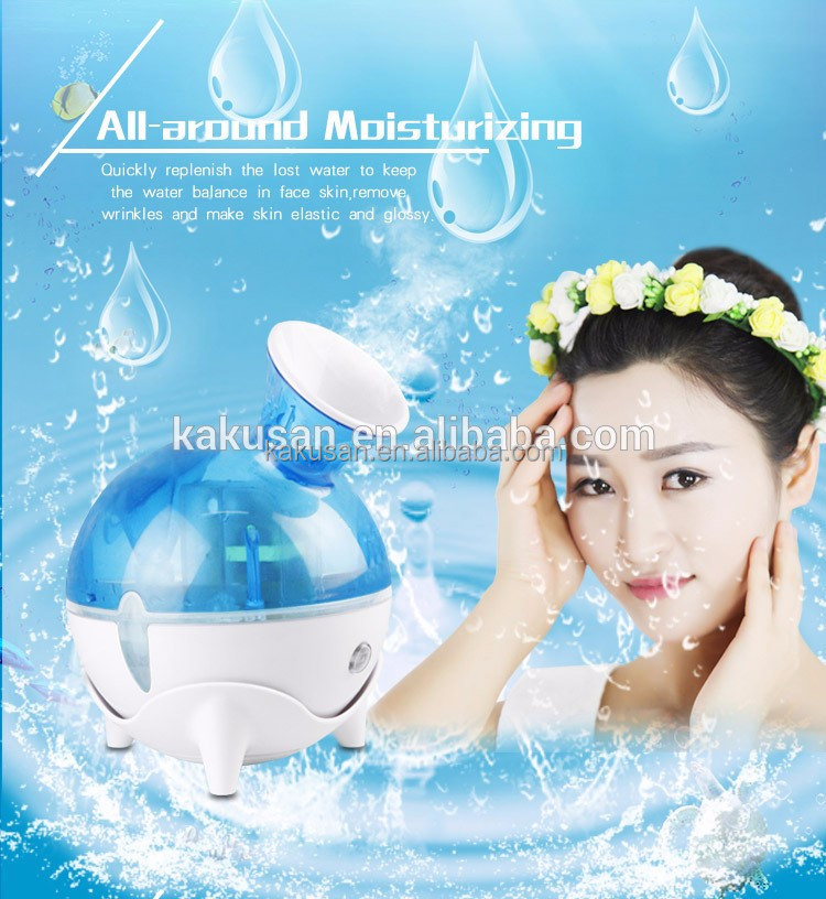 2017 hot sale moisture products nano mist face steamer for skin care