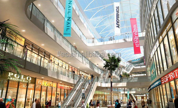 customized design space frame ball for shopping mall
