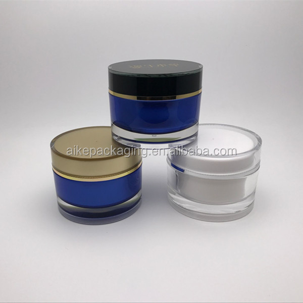 hair gel containers 150ml mask skin care jars cosmetic plastic jar 100g