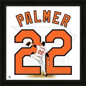 Jim Palmer Baltimore Orioles No. 22 - MLB Framed Uniframe