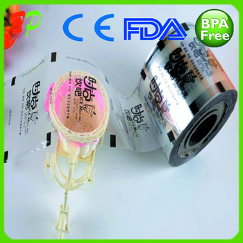 Air Bubble Film\customized Bubble Tea Cup Sealing Film