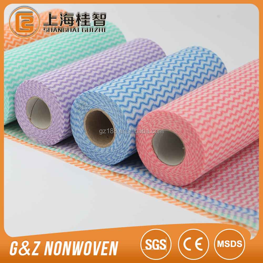 40-140 gsm Mesh spunlace nonwoven fabric, felt fabric Usage: dry wipes,cleaning weight: