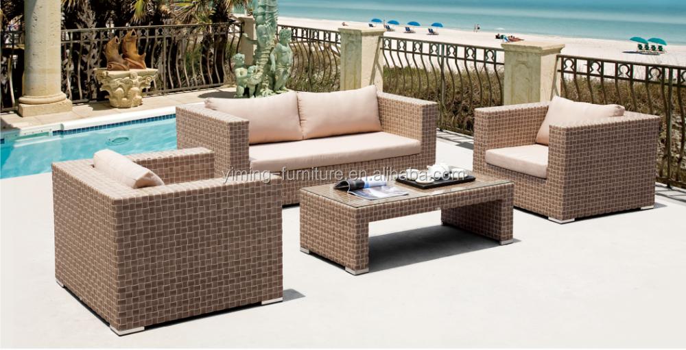 Lounge sofa rattan  Calamba New Hotel Sythetic Wicker /rattan Lounge /sofa Outdoor ...
