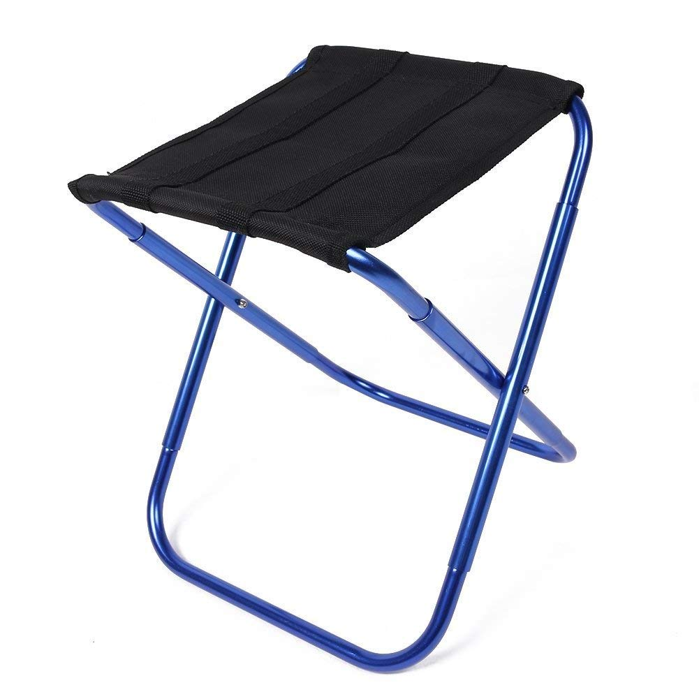 C-Xka Outdoor Folding Chair Compact Ultra-light Folding Chair Suitable for Outdoor/Fishing/Beach/Camping and Self-driving Tour Portable Folding Chair