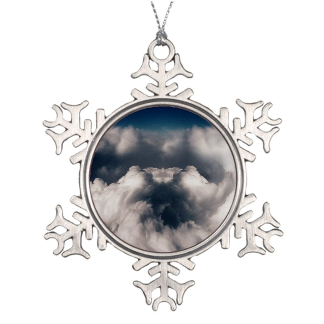 7th Gener Tree Branch Decoration Black Hole In Cloud Traditional Christmas Snowflake Ornaments