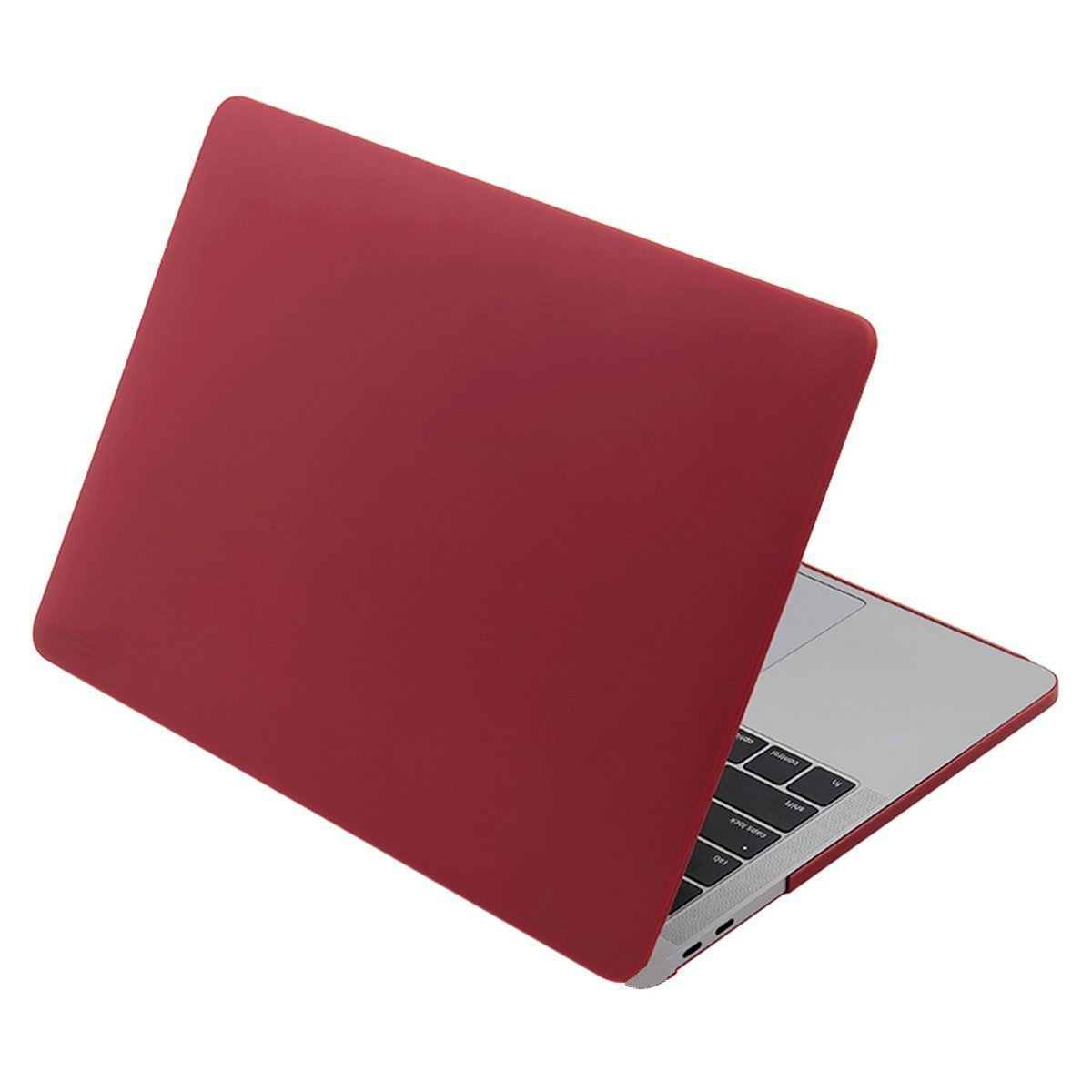 Sherosa Ultra Slim Soft-Touch Plastic Hard Case Cover for Newest Macbook Pro 13 Inch with Retina Display No CD-ROM (A1706/A1708, Oct 2016 Release) - Wine Red