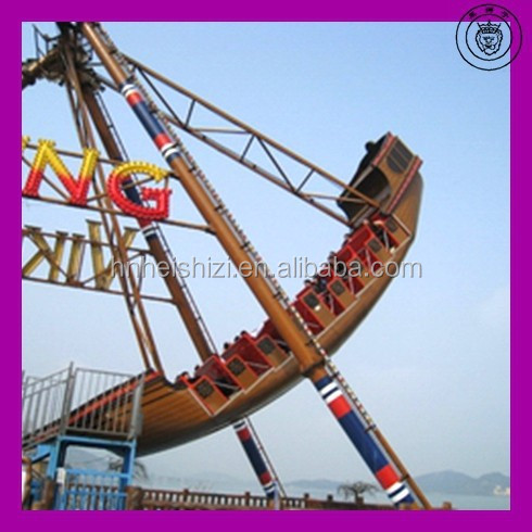 Hottest!!! Game machine electric Cartoon Swing outdoor rides pirate ship for adult&kiddie