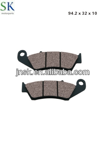 Motorcycle brake parts XRM BRAKE PAD china manufacturer for suzuki,yamaha,honda,piaggio, vespa,kawasaki,triumph, peugeot