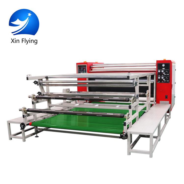 Giá thấp nhất lớn định dạng lịch nhiệt báo chí máy may textil calandra máy in thăng hoa