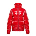 Womens Winter Overcoats 100% Polyester Plaid Padded Coat For Ladies G6970