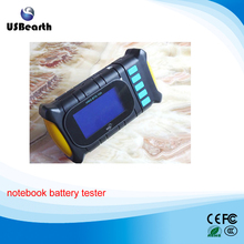 Portable notebook battery tester scanner with charge & discharge,small currents activation,battery data
