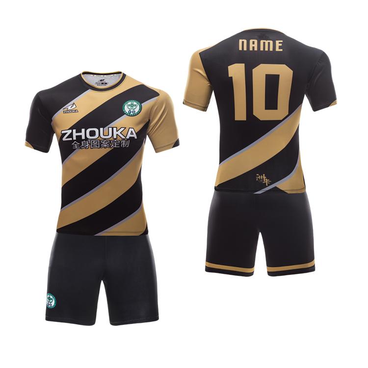 Wholesale new soccer jersey oem full soccer team uniform kits for kids