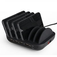 Multi-function Smart Mobile Phone Charging Station Multi Phone Charger