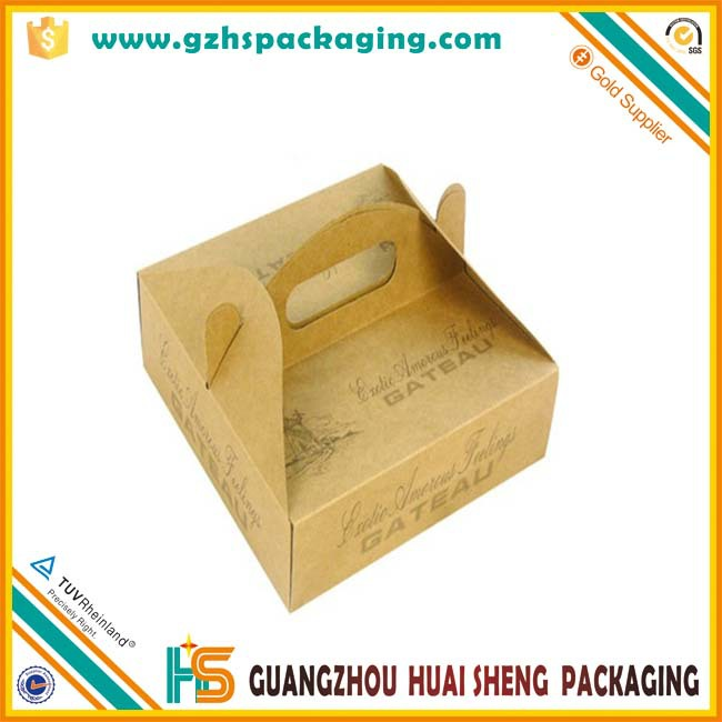 Food Packaging Box Design Templates/cake Box With Handle ...