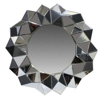 Unique Design 3D Mounted Wall Mirror