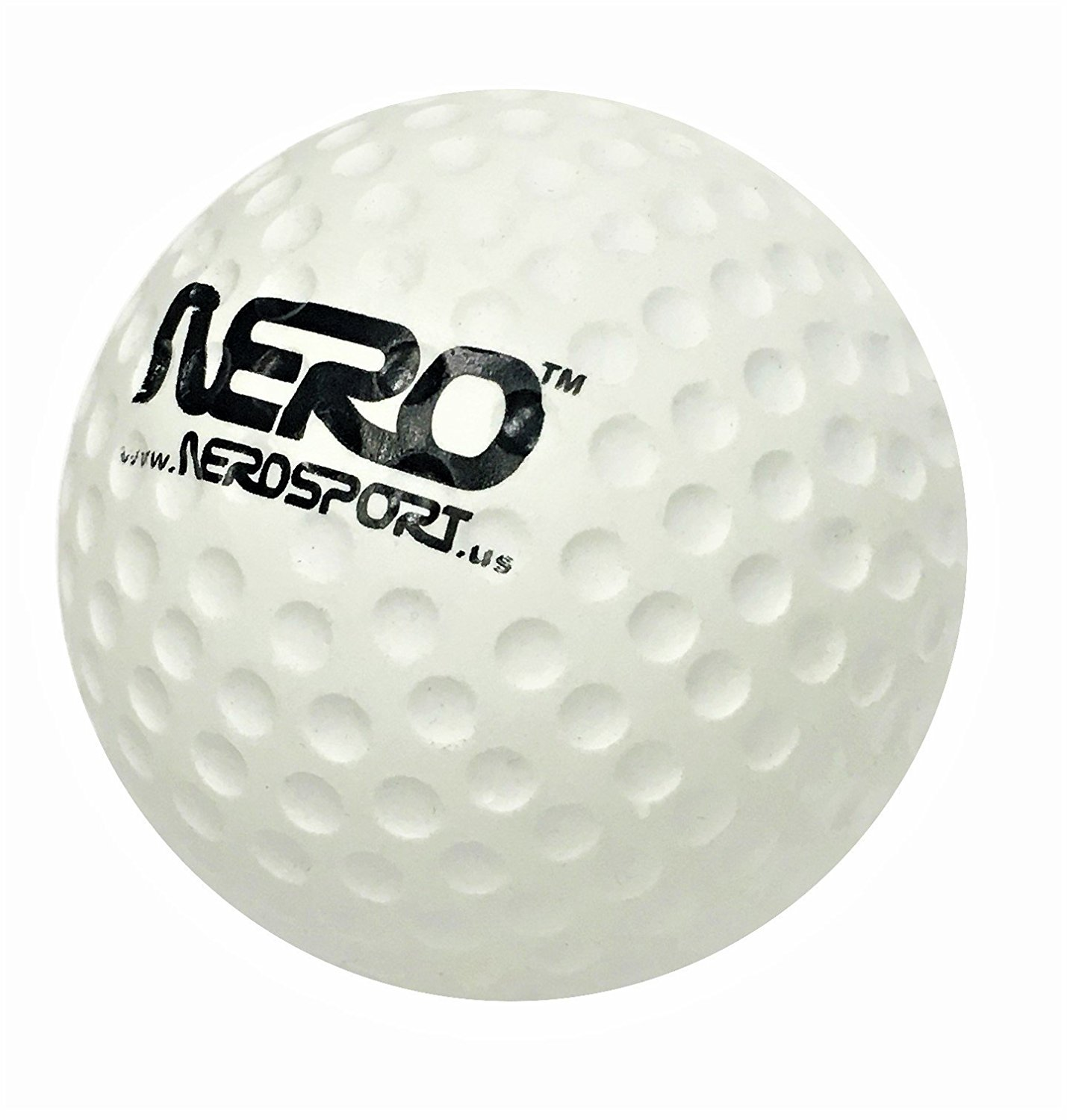 Nero NS-RS High Bounce Rubber Toy Golf Ball Style 2.5 inch Skills Development Toy Great For the Streets Park Back Yard Agility Ball Bulk Price Birthdays Gifts Summer Ball