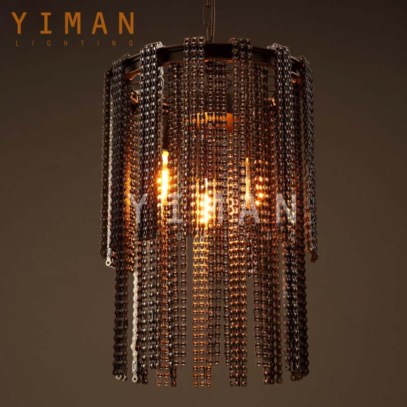 Industrial Retro Pendant light italian antique chandelier indoor decoration pendant lamp ul from china