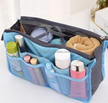 wholesale fashion foldable travel hang makeup cosmetic wash bag in bag