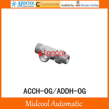 ACCH-OG/ADDH-OG Metric Male Adjustable Tee stub end ISO 6149 Run tee Hydraulic Adapters 3 way tee