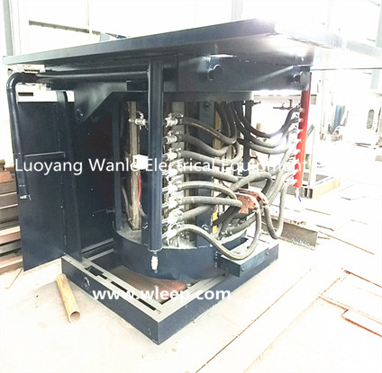 4T Steel Shell IF Induction Steel Melting Furnace