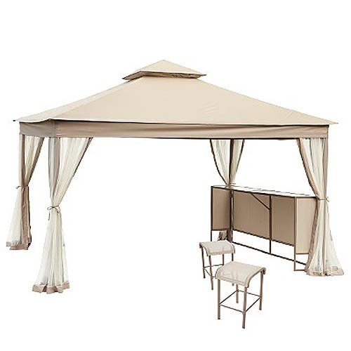 Get Quotations Clayton 10 X 12 Gazebo Replacement Canopy Riplock 350