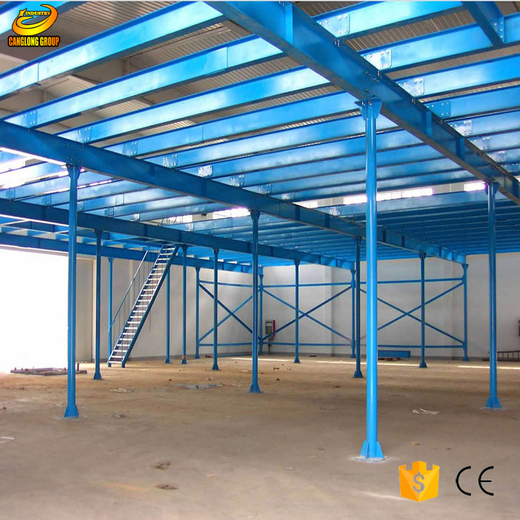 light steel prefabricated workshop /steel structure drawing