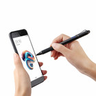 2 in 1 Multifunction Fine Point Round Thin Tip Touch Screen Pen Capacitive Stylus Pen For Smart Phone Tablet