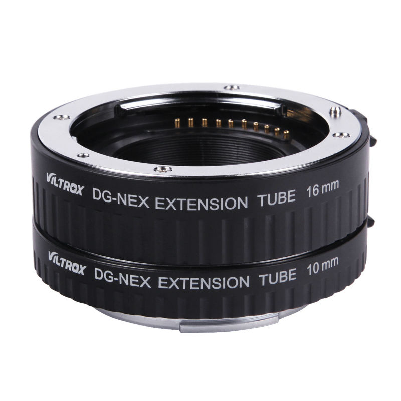 Viltrox DG-NEX Auto Focus Macro Extension Tube For SONY NEX-3N NEX-5/6 /7