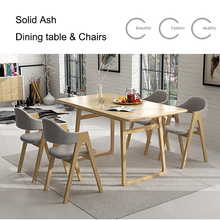 Wholesale Customized modern restaurant dinning tables and chairs