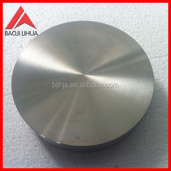 titanium target for graphic display coating(99.8%)